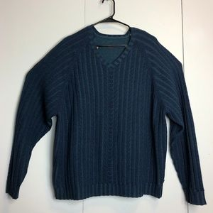 Tommy Bahama Fine Wool V Neck Pullover Sweater